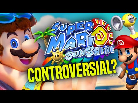 Why Super Mario Sunshine is CONTROVERSIAL in Mario 3D All Stars Switch!