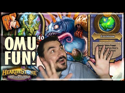 OMU ALWAYS DELIVERS END GAME FUN! - Hearthstone Battlegrounds