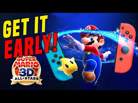 HOW To Get Super Mario 3D All Stars EARLY and FAST!