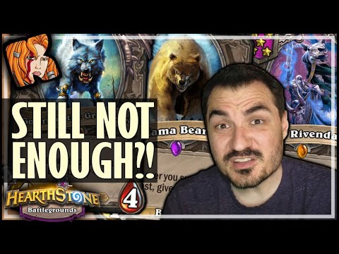 NOT ENOUGH STATS WITH THIS?! - Hearthstone Battlegrounds