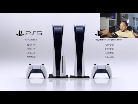 PS5 RELEASE DATE & PRICE - Live Reaction