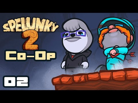 This Has Gone Downhill Fast! - Let's Play Spelunky 2 [Co-Op With  @Retromation ] - Part 2