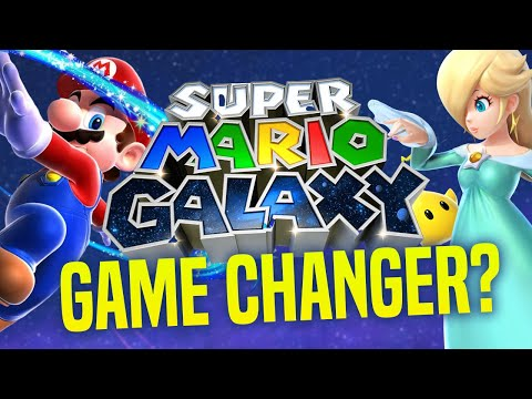 Did Super Mario Galaxy CHANGE EVERYTHING... Mario 3D All Stars Switch