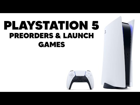 PLAYSTATION 5 - Preorders, Launch Games & More