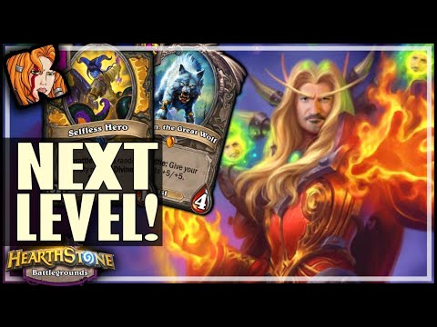 TAKING BEASTS TO THE NEXT LEVEL! - Hearthstone Battlegrounds