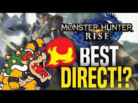 BEST NEW Nintendo Direct Of 2020? MONSTER HUNTER RISE! September 2020 Partner Showcase Reaction!