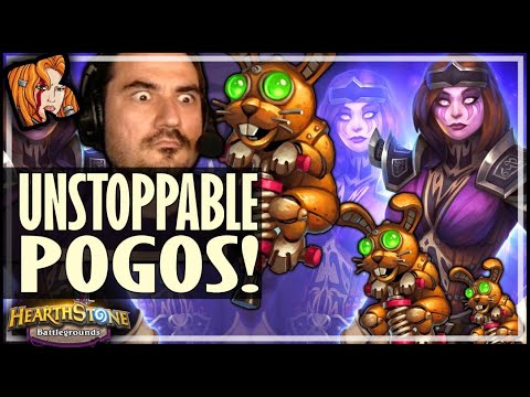 THESE POGOS ARE UNSTOPPABLE! - Hearthstone Battlegrounds