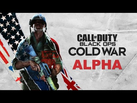 Call of Duty Black Ops Cold War Alpha