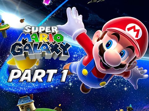 SUPER MARIO GALAXY REMASTERED Gameplay Walkthrough Part 1 - (3D All-Stars Collection)