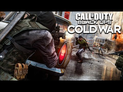CALL OF DUTY BLACK OPS COLD WAR ALPHA Gameplay