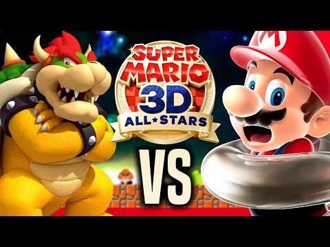MARIO VS BOWSER | Super Mario 3D All Stars Gameplay