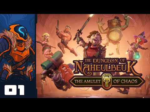 How Do You Pronounce This Game? - Let's Play The Dungeon Of Naheulbeuk: The Amulet Of Chaos - Part 1