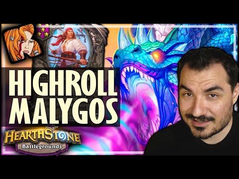 HIGHEST ROLL MALYGOS EVER?! - Hearthstone Battlegrounds