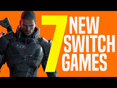 7 JUST Announced NEW Nintendo Switch Games Coming to Nintendo eShop! (Switch Release Update)
