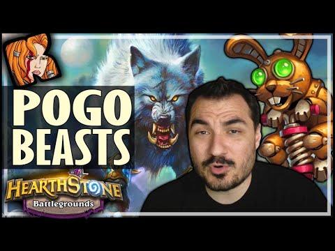 HYBRID POGO-BEASTS! - Hearthstone Battlegrounds