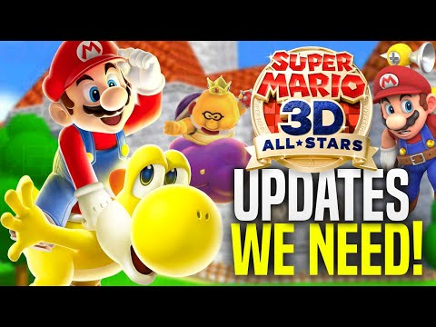 BIG NEW UPDATES For Mario 3D All Stars To IMPROVE The Game!