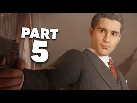 MAFIA REMAKE Gameplay Walkthrough Part 5 - THE SAINT AND THE SINNER (Mafia Definitive Edition)