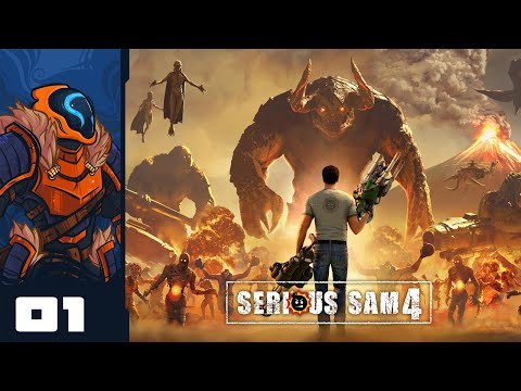 Gratuitous Gibbing Simulator 2020 - Let's Play Serious Sam 4 - PC Gameplay Part 1
