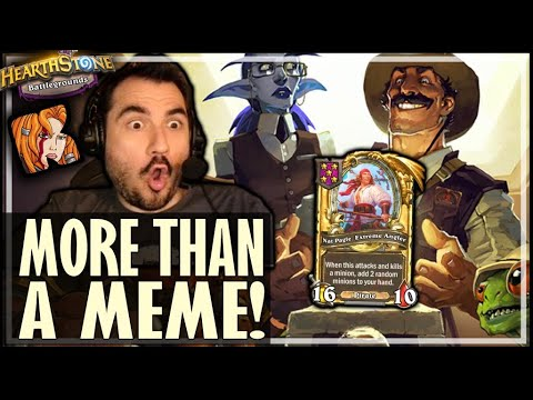 GOLDEN PAGLE IS MORE THAN A MEME! - Hearthstone Battlegrounds