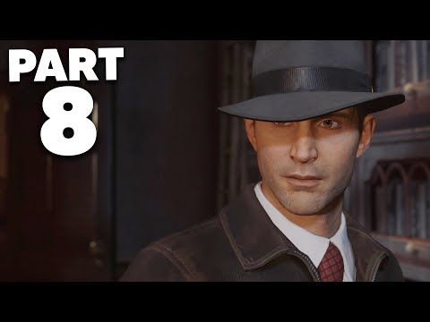 MAFIA REMAKE Gameplay Walkthrough Part 8 - VISITNG RICH PEOPLE (Mafia Definitive Edition)