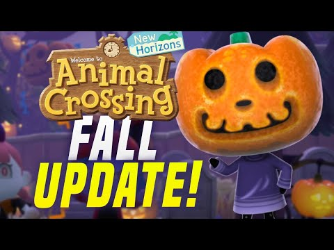 Halloween + Brewster!? New Animal Crossing Update 1.5 New Shops, Events (New Horizons Switch Update)