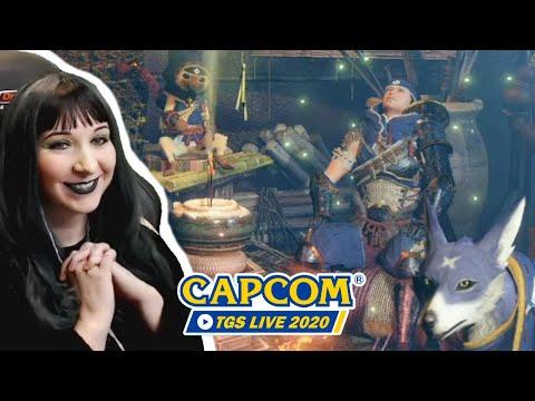 NEW MONSTER HUNTER RISE GAMEPLAY REACTION & MHS 2 - Capcom TGS 2020