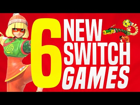 6 JUST Announced NEW Nintendo Switch Games Coming to Nintendo eShop! (Switch Release Update)