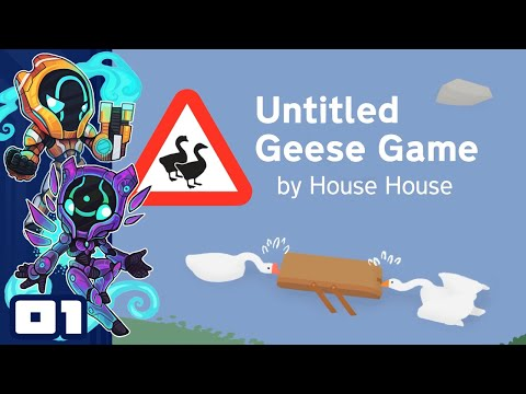 We Broke The Poor Groundskeeper's Mind! - Let's Play Untitled Geese Game [Co-Op] - Part 1