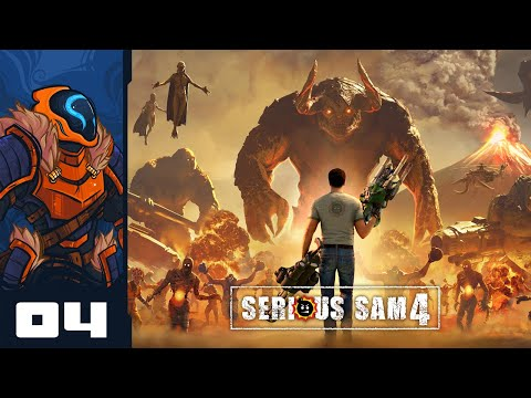 Friends Are Friends, Not Food - Let's Play Serious Sam 4 - PC Gameplay Part 4