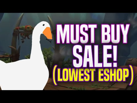 MUST BUY Nintendo Switch eShop Games Sale Available NOW! (Deals and Sales)