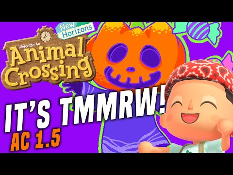 HALLOWEEN TMMRW! Animal Crossing New Horizons NEW 1.5 Update Prep! ACNH Tips and Tricks!