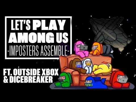 Among Us Gameplay: IMPOSTERS ASSEMBLE! (Let's Play Among Us with Eurogamer and Dicebreaker)