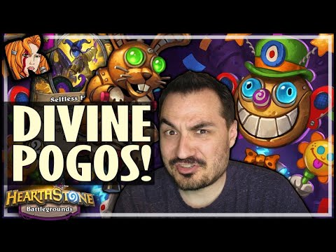 DIVINE POGOS JUST CAN'T BE BEAT! - Hearthstone Battlegrounds