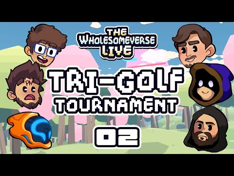 Cursed Jam - The First Annual Tri-Golf Tournament [Wholesomeverse Live] - Part 2