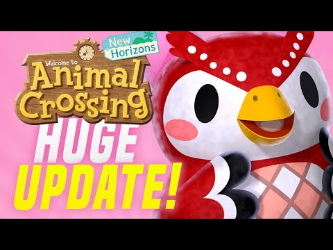 Animal Crossing October Update - ALL New Features, Events, Villagers, Creatures! (ACNH Tips)