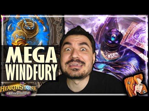 MEGA WINDFURY CLEAVES?! - Hearthstone Battlegrounds