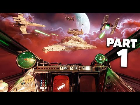 STAR WARS SQUADRONS Gameplay Walkthrough Part 1 - Prologue (Full Game)
