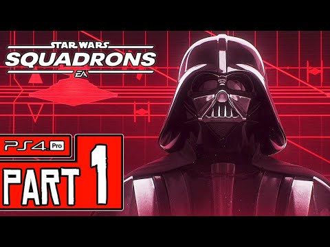 STAR WARS: Squadrons Walkthrough PART 1 (PS4 Pro) No Commentary @ 1440p (60ᶠᵖˢ) ✔