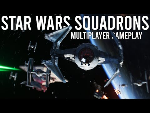 Star Wars Squadrons Multiplayer Gameplay and Impressions!