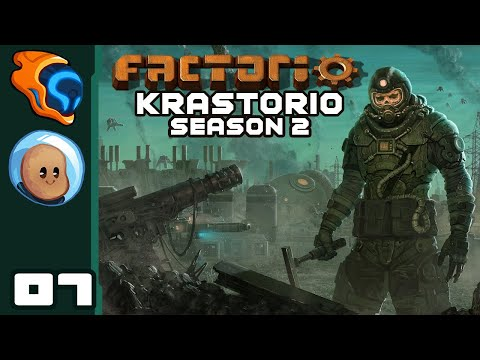 Slow To A Crawl - Let's Play Factorio [Krastorio Season 2 with @Orbital Potato] - Part 7