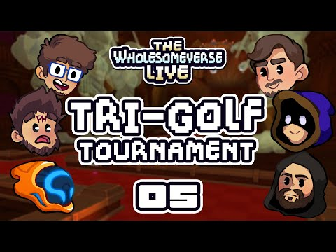 House Rules Are Best Rules - The First Annual Tri-Golf Tournament [Wholesomeverse Live] - Part 5