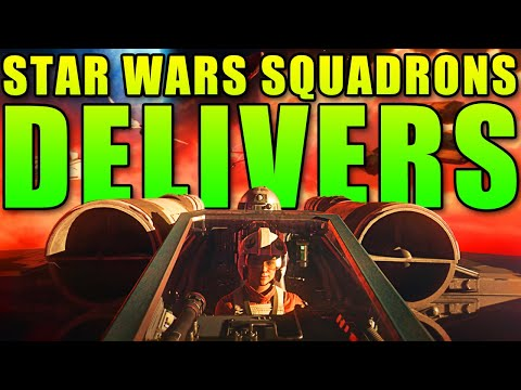 The New Movies SUCK But The Games DELIVER! Star Wars Squadrons Campaign Review