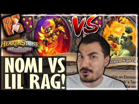NOMI vs LIL RAG ELEMENTALS?! - Hearthstone Battlegrounds
