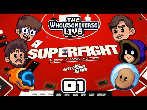 PUFF THE MAGIC DRAGON VS UFC SACKBOY - Tabletop Sim: Superfight [Wholesomeverse Live] - Part 1