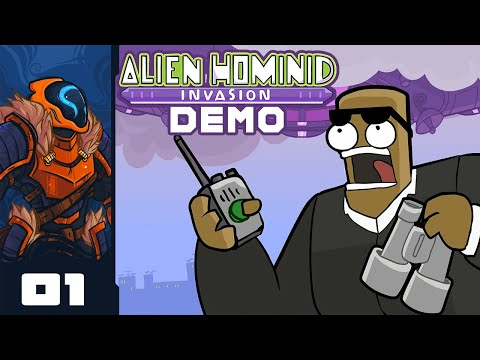 Behemoth's Done It Again! - Let's Play Alien Hominid Invasion [Demo] - PC Gameplay Part 1