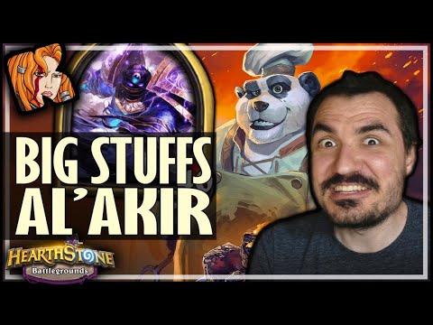 BIG STUFFS + AL'AKIR = OP! - Hearthstone Battlegrounds