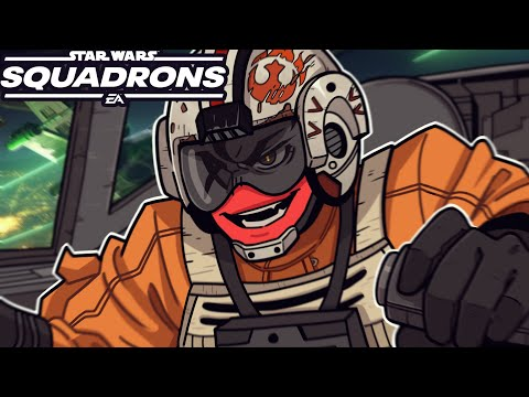 ME AND SQUIRREL ARE THE BEST PILOTS IN THE GALAXY! | Star Wars: Squadrons