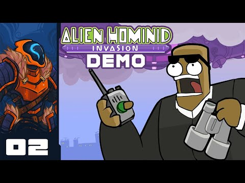 Scurrying My Way To Victory! - Let's Play Alien Hominid Invasion [Demo] - PC Gameplay Part 2