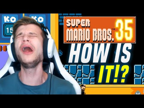Is NEW Super Mario Bros 35 Battle Royale ANY GOOD From Nintendo!? (Switch Gameplay)