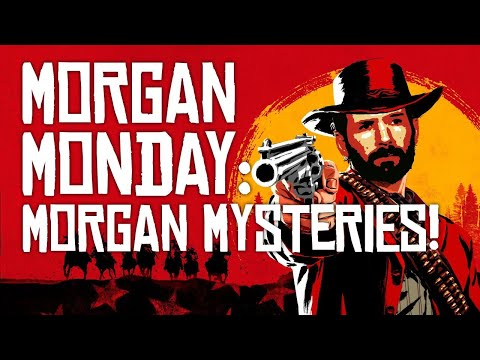 Red Dead Redemption 2 MORGAN MONDAY: MORGAN MYSTERIES SPECIAL! (Let's Play RDR2 Ep. 11)